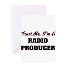 Trust me I'm a Radio Producer Greeting Cards