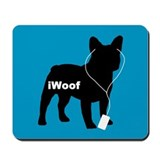 iWoof Frenchie Mousepad