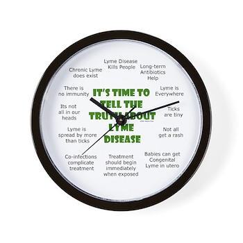 Lyme Disease Wall Clock