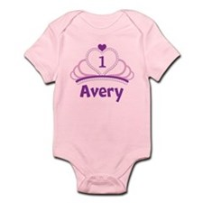 Custom Tiara Infant Bodysuit