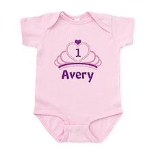 Custom Tiara Infant Bodysuit