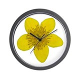 Marsh Marigold Wall Clock