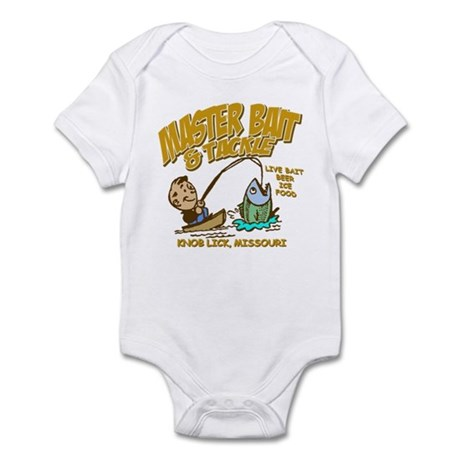 Master Bait Tackle Infant Bodysuit