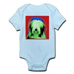 Bearded Collie Infant Creeper