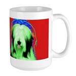 Bearded Collie Large Mug