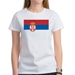 Serbia Flag Women's T-Shirt