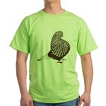 Brown Teager Pigeon Green T-Shirt