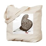 Brown Teager Pigeon Tote Bag