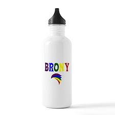 Brony rainbow 329 Water Bottle
