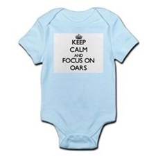 Keep Calm and focus on Oars Body Suit