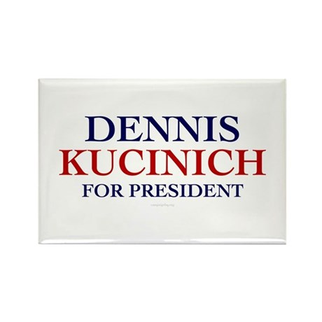 Kucinich for President Rectangle Magnet