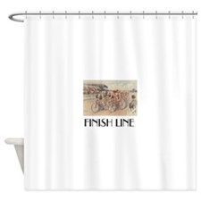 Cycling Race Shower Curtain