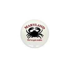 Maryland . . . We've Got Crab Mini Button (100 pac