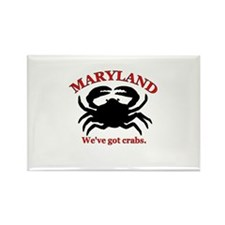 Maryland . . . We've Got Crab Rectangle Magnet (10