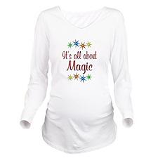 About Magic Long Sleeve Maternity T-Shirt