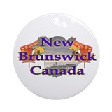 New Brunswick Ornament (Round)