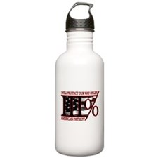 Funny Protect serve Water Bottle