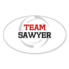 Sawyer Oval Decal