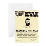 Wanted Pacho Villa Greeting Cards (Pk of 10)