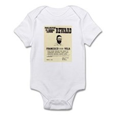 Wanted Pacho Villa Infant Bodysuit