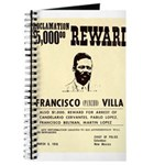 Wanted Pacho Villa Journal