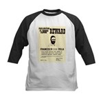 Wanted Pacho Villa Kids Baseball Jersey