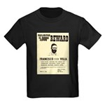 Wanted Pacho Villa Kids Dark T-Shirt