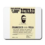 Wanted Pacho Villa Mousepad