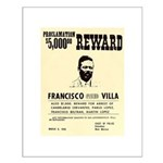 Wanted Pacho Villa Small Poster
