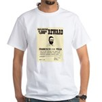 Wanted Pacho Villa White T-Shirt