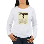 Wanted Pacho Villa Women's Long Sleeve T-Shirt