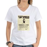 Wanted Pacho Villa Women's V-Neck T-Shirt