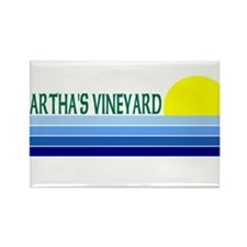 Martha's Vineyard Rectangle Magnet