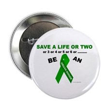 Save A Life Or Two Button