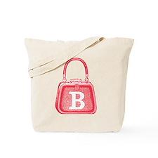 Monogram Vintage Pink Purse Graphic Tote Bag