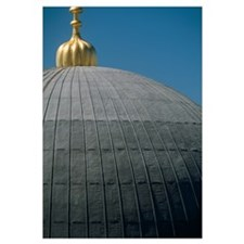 Turkey, Detail of domed roof of Haghia Sophia, Ist