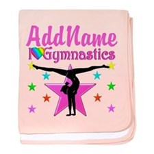 GYMNAST CHAMP baby blanket
