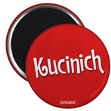 "Retro Kucinich 2.25"" Magnet (10 pack)"