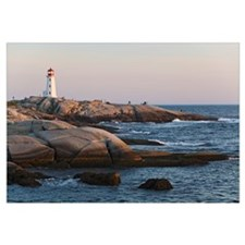 Lighthouse, Peggy's Cove, Nova Scotia, Canada