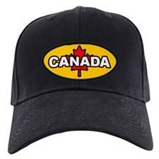 I Love Canada Baseball Hat