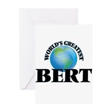 World's Greatest Bert Greeting Cards