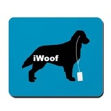 iWoof Flatcoat Mousepad