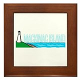 Mackinac Island Framed Tile