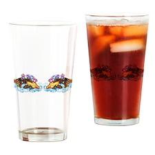 Koi and Lotus (RH) Drinking Glass