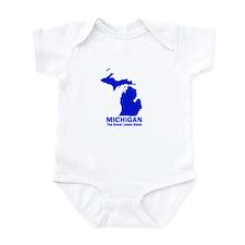 Michigan . . . The Great Lake Infant Bodysuit