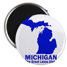 "Michigan . . . The Great Lake 2.25"" Magnet (10 pac"