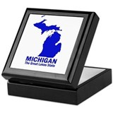 Michigan . . . The Great Lake Keepsake Box
