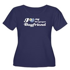 Uruguayan Boy Friend Women's Plus Size Scoop Neck