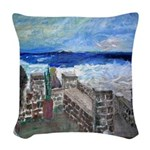 Daughter's Day Woven Throw Pillow