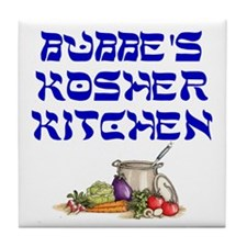 Bubbe's Kosher Kitchen Tile Coaster